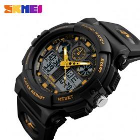 SKMEI Jam Tangan Analog Digital Pria - AD1270 - Black Gold - 2