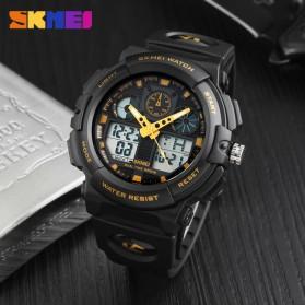 SKMEI Jam Tangan Analog Digital Pria - AD1270 - Black Gold - 5