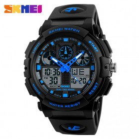 SKMEI Jam Tangan Analog Digital Pria - AD1270 - Black/Blue