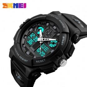 SKMEI Jam Tangan Analog Digital Pria - AD1270 - Black - 3