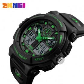 SKMEI Jam Tangan Analog Digital Pria - AD1270 - Black/Green - 2