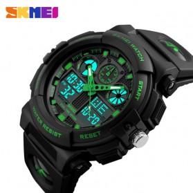SKMEI Jam Tangan Analog Digital Pria - AD1270 - Black/Green - 3