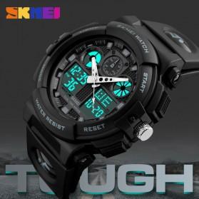 SKMEI Jam Tangan Analog Digital Pria - AD1270 - Black/Green - 4