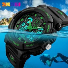 SKMEI Jam Tangan Analog Digital Pria - AD1270 - Black/Green - 6