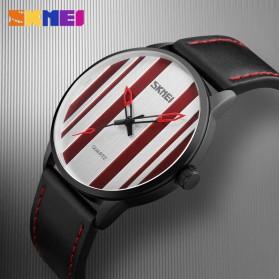 SKMEI Jam Tangan Analog Pria - 1602S - Black - 3