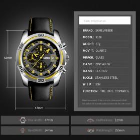 SKMEI Jam Tangan Analog Pria - 9156 - Black - 4