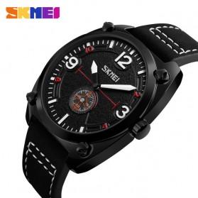 SKMEI Jam Tangan Analog Pria - 9155 - Black - 2