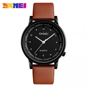 SKMEI Jam Tangan Analog Pria - 1210 - Brown/Black