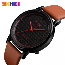 SKMEI Jam Tangan Analog Pria - 1210 - Brown/Black - 2