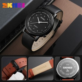 SKMEI Jam Tangan Analog Pria - 1210 - Brown/Black - 3