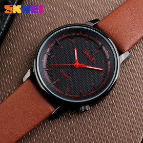 SKMEI Jam Tangan Analog Pria - 1210 - Brown/Black - 4