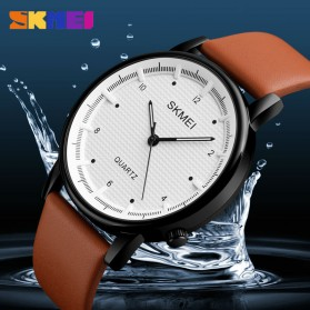 SKMEI Jam Tangan Analog Pria - 1210 - Brown/Black - 5