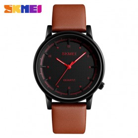 SKMEI Jam Tangan Analog Pria - 1210 - Brown/Red