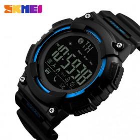 SKMEI Jam Tangan Sporty Smartwatch Bluetooth - 1256 - Blue - 2