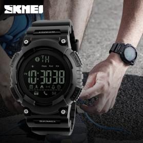 SKMEI Jam Tangan Sporty Smartwatch Bluetooth - 1256 - Blue - 6