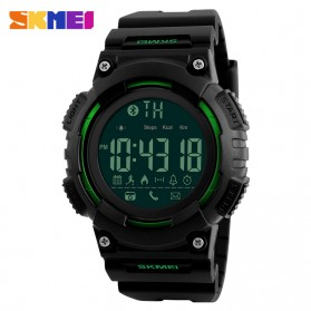 SKMEI Jam Tangan Sporty Smartwatch Bluetooth - 1256 - Green