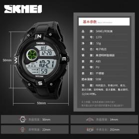 SKMEI Jam Tangan Digital Pria - 1279 - Black - 5