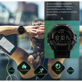 SKMEI Jam Tangan Olahraga Smartwatch Bluetooth - 1249 - Black - 6 .