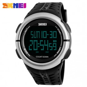SKMEI Jam Tangan Digital Sporty Pria - 1286 - Black