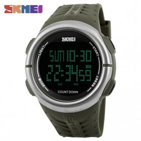 SKMEI Jam Tangan Digital Sporty Pria - 1286 - Army Green
