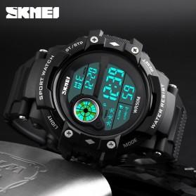 SKMEI Jam Tangan Digital Pria - 1280 - Black - 6