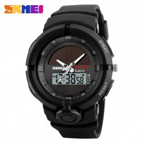 SKMEI Jam Tangan Digital Analog Pria - 1275 - Black