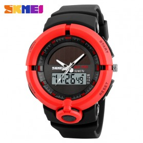 SKMEI Jam Tangan Digital Analog Pria - 1275 - Red