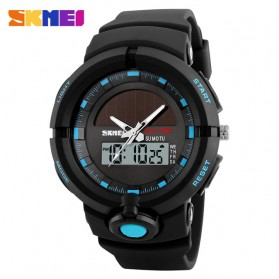 SKMEI Jam Tangan Digital Analog Pria - 1275 - Blue - 1