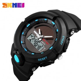 SKMEI Jam Tangan Digital Analog Pria - 1275 - Blue - 2