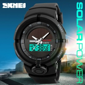 SKMEI Jam Tangan Digital Analog Pria - 1275 - Blue - 5