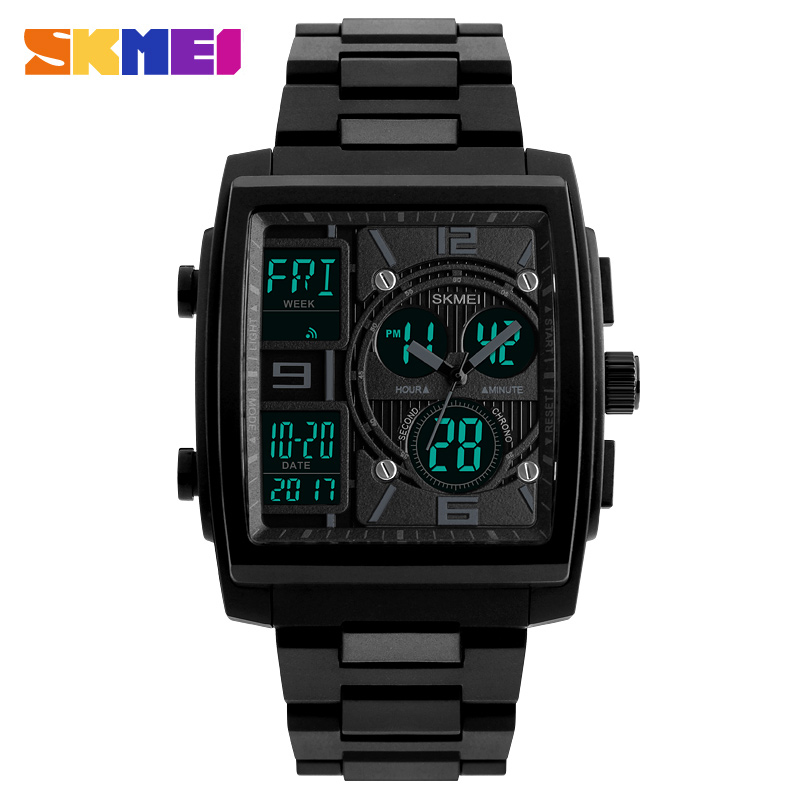 ... SKMEI Jam Tangan Analog Digital Sporty Pria - 1274 - Black - 1 ... 0c46d3e456