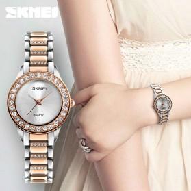 SKMEI Jam Tangan Analog Wanita - 1262 - Silver - 3