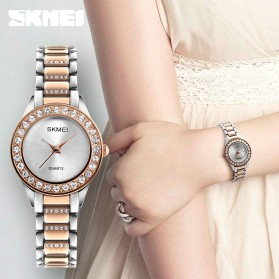SKMEI Jam Tangan Analog Wanita - 1262 - Rose Gold - 3