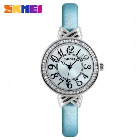 Jam Tangan Wanita Beauty Glowy Fashion - 9162 - Blue