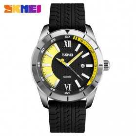 SKMEI Jam Tangan Analog Kasual Pria - 9151 - Yellow