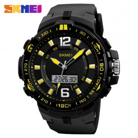 SKMEI Jam Tangan Analog Digital Pria -1273 - Black/Yellow