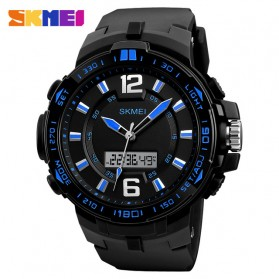 SKMEI Jam Tangan Analog Digital Pria -1273 - Black/Blue