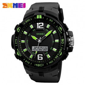 SKMEI Jam Tangan Analog Digital Pria -1273 - Black/Green