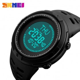 SKMEI Jam Tangan Kompas Digital Pria - 1254 - Black