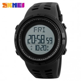 SKMEI Jam Tangan Digital Sporty Pria - 1295 - Black
