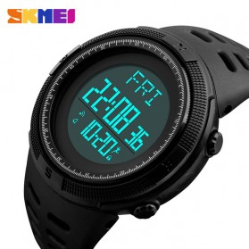 SKMEI Jam Tangan Digital Sporty Pria - 1295 - Black - 2