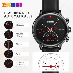 SKMEI Jam Tangan Analog Smartwatch - H8 - Black - 5