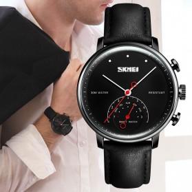 SKMEI Jam Tangan Analog Smartwatch - H8 - Silver Black - 4