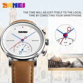 SKMEI Jam Tangan Analog Smartwatch - H8 - Silver Black - 6