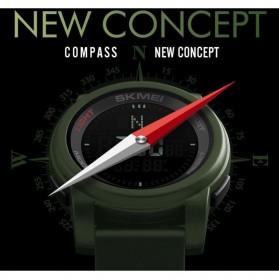 SKMEI Jam Tangan Kompas Digital Pria - 1289 - Black - 4