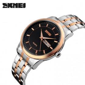 SKMEI Jam Tangan Analog Premium Pria - 9119 - Black - 2