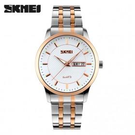 SKMEI Jam Tangan Analog Premium Pria - 9119 - White