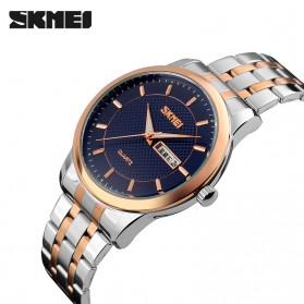 SKMEI Jam Tangan Analog Premium Pria - 9119 - Blue - 2