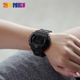 SKMEI Jam Tangan Digital Sporty Pria - 1304 - Black with White Side - 5