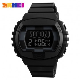 SKMEI Jam Tangan Digital Sporty Pria - 1304 - Black